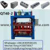 Bloco de bloqueio do concreto manual que faz a máquina, máquina da fabricação do bloco de cimento