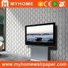 Papel de parede profundamente gravado italiano do PVC do projeto (MK830505)