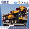 가득 차있는 유압 트럭에 의하여 거치되는 드릴링 리그 Hfmc-800