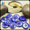 Purple rond Nature 4 Holes Corozo Fruit Button pour Clothes