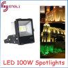 Proyectores de la MAZORCA 100W del LED para la luz al aire libre del jardín o del edificio