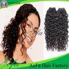 Extension humaine de cheveux bouclés de Remy de Vierge de vison indien en gros de cheveux