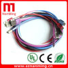 USB differente Cable di Color Nylon Briad Micro con Metal Caso