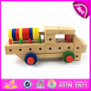 2015 Nut de madeira Screw Wooden Combination Toy, Children Toys Screw Nut Combination, Good Quality Hand - Wooden feito Screw Toy W03c014