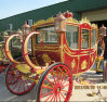 Carro real del carro del caballo de la boda con el fabricante del precio competitivo