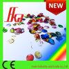 Confeti metálico Wedding del confeti colorido de la dimensión de una variable redonda