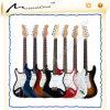 Constructeur de guitare vendant les chaînes de caractères de guitare et la guitare électrique