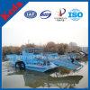 高性能のWeedの収穫機及びホテイアオイの切断の船及び浮遊ガーベージは販売のためのボートか浚渫船を集める