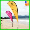 깃발을 인쇄하는 여름 바닷가 전시 기치