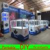 Cabine reusável portátil de alumínio do carrinho da feira profissional da exposição do projeto