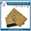 Best QualityのプラスチックCard Gold Stamp