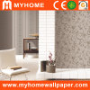 Pared Decoration Wall Paper con Embossed Floral