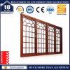 Abgetöntes Sicherheits-Aluminiumschiebendes Glasfenster
