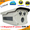 Weatherproof IP66 1.0 Megapixel Onvif Network IP Camera (60M IR)