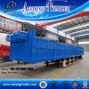 3 Aanhangwagen van de Vrachtwagen van de Lading van de Omheining van het Vee van het Nut van de as 60t Flatbed Semi