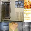 Congelador rápido de aço de Stainles para pepitas de galinha 200kg