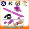 Bekanntmachen der Geschenkebrian-Kreis-Silikon-Armband USB-Flash-Speicher-Platte