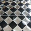 磨かれた端のクリスタルグラスのモザイク・タイル