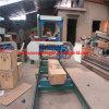 携帯用ディーゼル木製の切断はMj1300d水平バンド鋸引き機械を見た