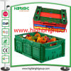 Caixa Foldable plástica da caixa do armazenamento da agricultura para fazendeiros
