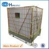 Magazzino che memorizza le protezioni dell'animale domestico che profilatura il contenitore della rete metallica