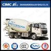 6 * 4 Foton Auman 4-20cbm Camión mezclador de hormigón