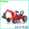 Carro elétrico do brinquedo da máquina escavadora do mini tamanho