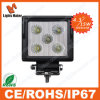 Goedkope Price 4.3 '' 15W LED Work Light LED Mistlamp 15W LED Car Headlight Spot/Flood Light