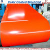 0.32mm Red Color Prepainted Steel Coil с Ral K7 Color