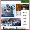 Manual Ultrasonic Gold Wire Ball Bonder Mdbb1750