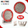 CC LED Working Lights di Round 96W 5800lm 10-30V di alto potere