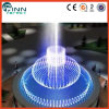 Fontaine d'eau 3D musicale extérieure de commande numérique de conception originale