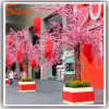 Decoración de la boda artificial de cereza Flor Peach Blossom Árbol