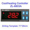 220V 디지털은 관제사 해산물 기계 Zl-6803A를 위한 냉각하거나 가열 온도
