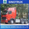 HOWO 6X4の国際的なA7トラクターのトラックヘッド
