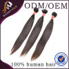 5A Grde Virgin Remy Peruvian Human Straight Hair Weaving