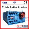 Triturador concreto portátil do rolo do triturador três com boa qualidade