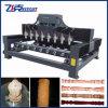 Гравировальный станок древесины CNC 4 шпинделей оси 8
