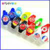 Vigilanza del mondo del regalo di promozione con le vigilanze della bandiera nazionale (P5900)