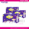 almofadas sanitárias grossas Maxi super de 320mm Delux para o uso de noite