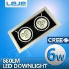 El LED aventuró las luces 6W