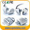Fabrik-Produkt-Inneres Form Jeweled USB-grelle Platte-Linux USB (ES200)