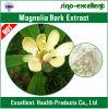 Estratto organico 98% Magnolol Honokiol della corteccia della magnolia di Anti-Ansia