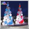 Dekorativer beleuchteter großer künstlicher im Freien 3D Weihnachtsbaum mit Kugeln