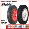 Chinesisches 10X2 White Rubber Caster Wheel für Sale