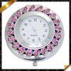 Bijoux en cristal de montre de charmes de Rose, montres de miroir en métal (MW004)