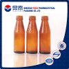 Bestes Qualitätsbernsteinfarbiges Farben-Getränkeglasflasche