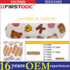 PE Material Cartoon Adhesive Bandages d'OEM 72*19mm de qualité