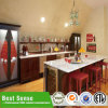 Мебель кухонного шкафа кухни прямой связи с розничной торговлей фабрики дешевая
