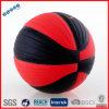 Bola roja y negra para el juego de baloncesto